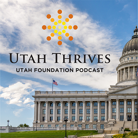 Utah Thrives Podcast Logo